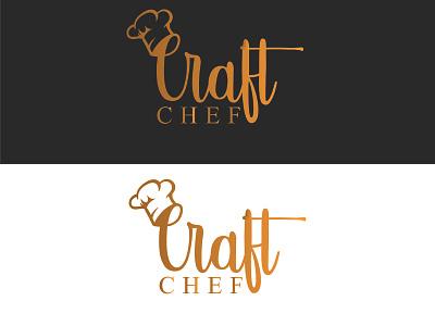 Craft Chef minimal vector illustration logos minimalist logo design icon flat branding logodesign logo