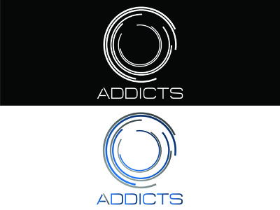 Addicts illustration minimal logos vector minimalist logo design icon branding flat minimalist gaming logo logo design logodesign logo