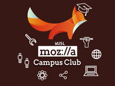 Mozilla Campus Club Logo