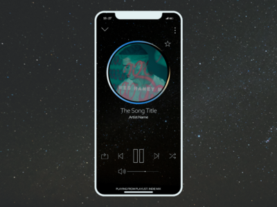 Daily UI Challenge :: Day 9 - Music Player