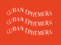 Cuban Ephemera