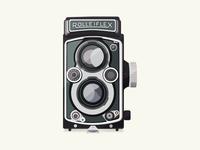 Vintage Camera - Rolleiflex