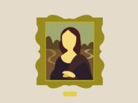 Flat Mona Lisa