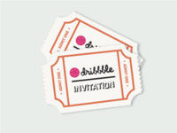 Dribbble Invitations