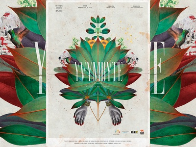 YVYMBYTE - Documentário Indígena indigenous movie documentary design illustration poster collage