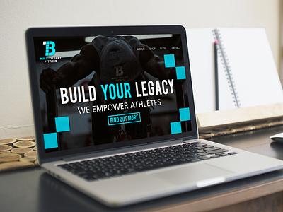 Built to Last Fitness graphic design brand design branding