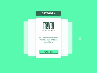Trivia cards