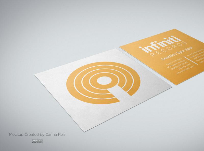 Infiniti Business Card