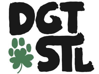 Hand-Lettered Dogtown STL Logo #1