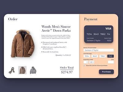 Daily UI 002 | Checkout ui design dailyui dailyui 002