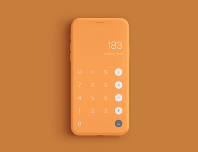 Daily UI 004 | Calculator