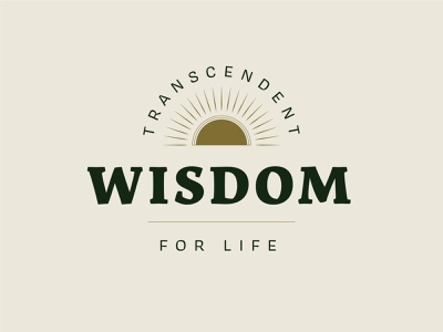 Transcendent Wisdom | Sermon Artwork branding vintage christian church green fall design