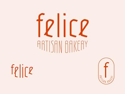 Felice Artisan Bakery |  Logo restaurant branding brand identity logo
