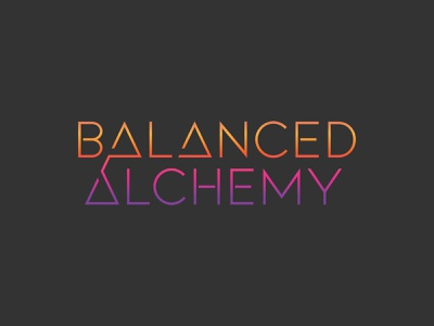 Balanced Alchemy Logo vector branding logo design