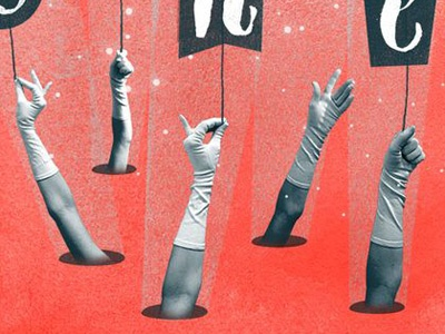 Magic Hands hands gloves magic stars fingers holes wormholes