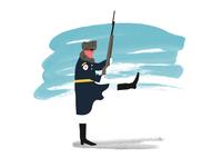 Monocle Russian Guard