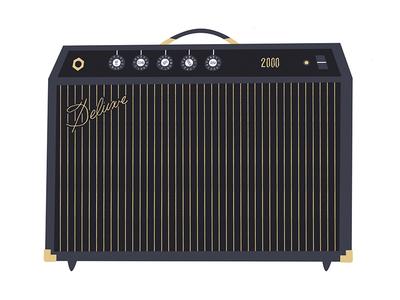 Amp Champ fender loud guitar volume deluxe