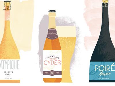 Cider Bottles texture cidre french sparkling bottles alcohol cyder cider poire