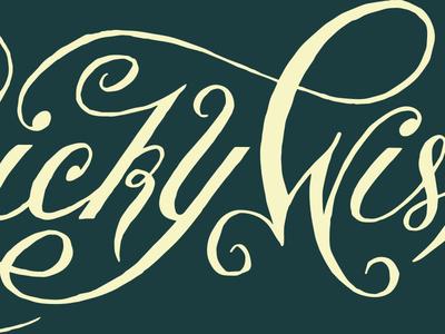 Wonky Oranamental Script