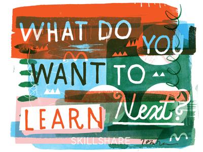 New Skillshare Class