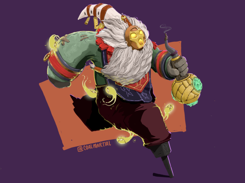 Just Bard, Tooting In The Cosmos bard leagueoflegends league of legends character design character game art games illustration