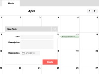 Calendar Newtask (Version 2)