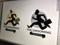 Mobile Grooming Service Logo