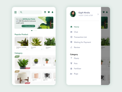 Mobile App - Plant Store