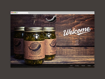 Pappy's Pickled Peppers Website