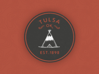 Tulsa Oklahoma Sticker