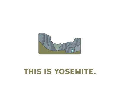 Illustration   Yosemite Valley WIP nature illustrator drawing cracks this is: canyon waterfall builtbyluke design yosemite national park illustration