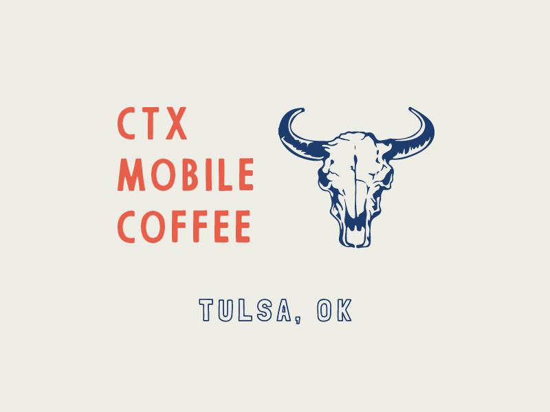 CTX Coffee Mug Illustration skull hand drawn illustration camp mug mug design builtbyluke tulsa ctx coffee