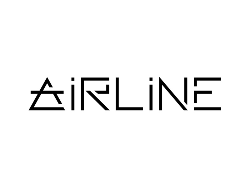 Airline Logo dailylogochallenge branding typography logo design style vector ai