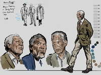 Character Design Based on Morgan Freeman