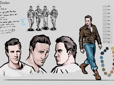 Character Design Based on Marlon Brando