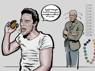 Brando and Freeman based character designs
