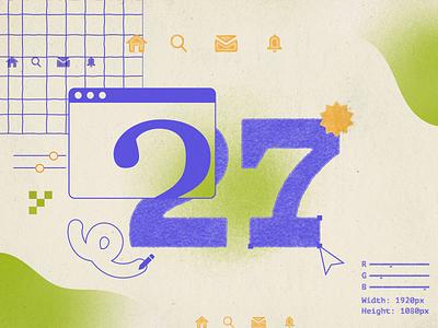 27 ui trends design trends editorial illustration 27 texture