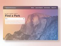 National Parks Landing