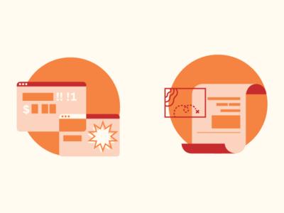 Reward Icons minimal ads icons