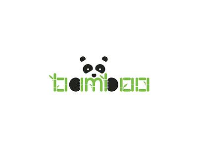 Bamboo animals bamboo panda dailylogochallenge logo design branding vector illustration adobe illustrator