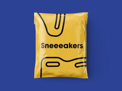 Packaging for Sneeeakers