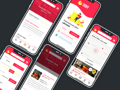 Mobile App Skivy