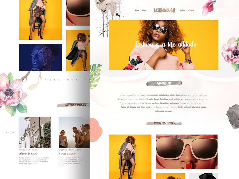 Girly Blog Theme