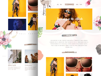 Girly Blog Theme