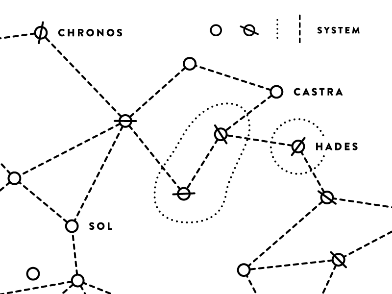 Star Citizen Star Map By Sondre Brustad Dribbble Dribbble