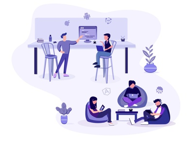 Learning HQ illustration