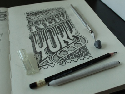 New York Hand Lettering Type Design