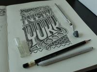 New York Hand Lettering Type Design
