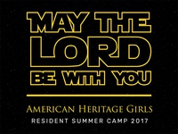 American Heritage Girls Camp Theme
