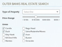 Outer Banks Search Form
